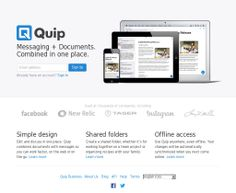 collaboration software quip