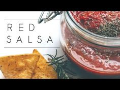 RED SALSA – RAW, VEGAN, OILFREE, GLUTENFREE, PALEO, HCLF | Whip this deliciously spicy and fresh red salsa up in only about five minutes, grab those nachos you saved for your movie night and throw your ass on that sofa. Because that's literally your favorite thing to do when you get home, right? Or nah? Fiiiine. Guess I'm the only one then.