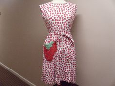 Vintage Swirl  Wrap Dress by 4TheLoveOfVintage on Etsy