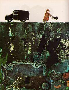 Cannonball Simp - John Burningham (1966).