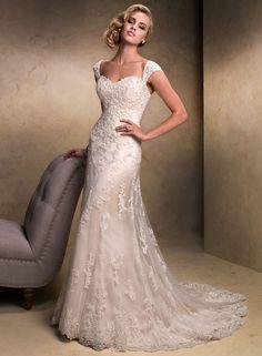 KleinfeldBridal.com: Maggie Sottero: Bridal Gown: 32898934: A-Line: No Waist/Princess Seams