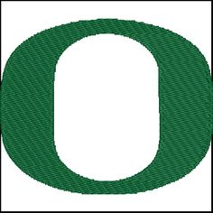 University Of Oregon Embroidery Design Pattern Instant Download - $2.00 #onselz