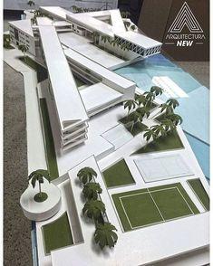 Instagram photo by arquitecturanew - Trabajo de Grado / Escuela naval /#arquitecturanew #arquitectura #usmarquitectura #diseño #desing #maqueta #maquette #arquitecturanew