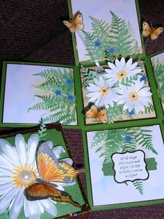 Explosion Daisies Open by !aah - Cards and Paper Crafts at Splitcoaststampers
