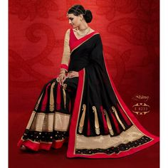 Designer Black & Golden Printed Raw Silk Saree - RKRGSE8223 ( FH-RKRGSE8201 )