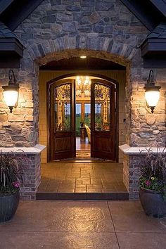 Beautiful stones Photo from -Architectural Designs House Plans..