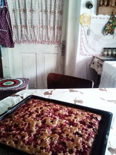 my grandma´s kitchen and vegan summer cake