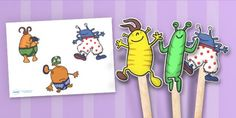 Story Resources - Popular Children's Stories - EYFS - Year 1 to 6 - Page 23 Dinosaur Theme Preschool, Preschool Books, Kindergarten Activities, Robot Theme, Alien Party, Story Sack, Outer Space Theme, Dramatic Play Centers, Outer Space