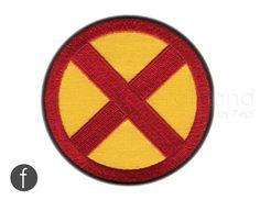 "x-men emblem Iron On Patch 3.35"" by FerdinandWorks on Etsy https://www.etsy.com/listing/183949169/x-men-emblem-iron-on-patch-335"