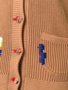 Achetez Nina Ricci cardigan à détails brodés en Del Rosa Al Amarillo from the world's best independent boutiques at farfetch.com. Découvrez 400…