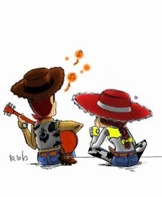 Find images and videos about disney, toy story and woody on We Heart It - the app to get lost in what you love. Woody Y Jessy, Woody And Jessie, Jessie Toy Story, Disney Pixar, Disney Toys, Disney And Dreamworks, Disney Kunst, Arte Disney, Disney Fan Art