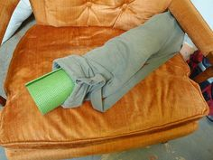 reuse old pants!