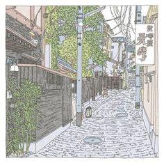 20景 かくれんぼ横丁(神楽坂) | つちもちしんじ | note