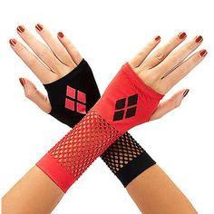 Harley Quinn Mismatched Gloves - Spirithalloween.com