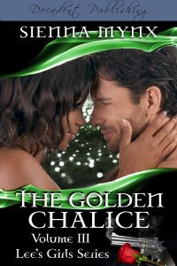 I rated The Golden Chalice three crowns because the swagger was definitely there and I know at least four of my friends who are reading this review are going to bite my head off. Oh well they are just going to have to get their own blog, in all fun this is a wonderful interracial romance that is not just straight lovey dovey, there are some dark corners in this read. Which I know would appeal to the street and urban genre, which many of my friends love to read.
