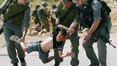 Israels soldiers attacked a child! They attacked a mother with her child in the background! Free Palestine!