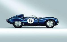 gentlementools:   1956 Jaguar D-Type Ecurie d' Ecosse