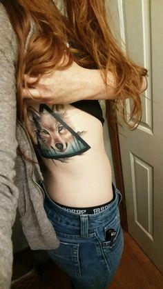 Wolf tattoo, monolithtattoo, animal tattoos, body art