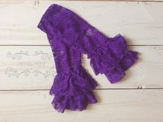A personal favorite from my Etsy shop https://www.etsy.com/listing/231019833/girl-purple-ruffle-lace-shabby-leg