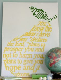 word art - jeremiah 29:11 My favorite verse... would be cool to do something like this for a tattoo or on clothing, or on the wall...or invites...gee the options are endless #wordart