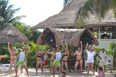 #FUN All day long with our animation team at the main pool and the beach! #SandosExperience