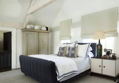 "Atlanta-based interior designer Amy Morris  philosophy is ""simplifying adds a level of ele..."