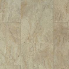 USFloors Coretec Plus: Antique Marble Engineered Luxury Vinyl Tile with Cork…