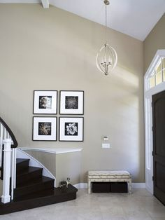 Entry Interior Paint Design, Pictures, Remodel, Decor and Ideas