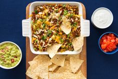 "Lentil Nachos - omit ground beef or substitute Butler Soy Curls or another vegan ""meat"""