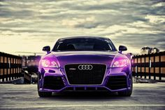 Purple Audi TT