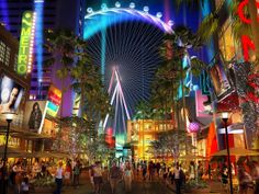 Artist rendering of The Linq