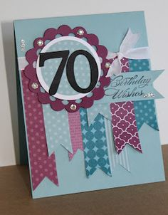 Stampin' Up! Birthday Card  by Just Julie B's Stampin' Space