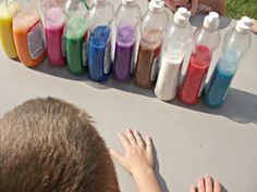 """Throw a """"messy party"""", this post is genius. I'm so loving it for a bday party idea."""