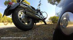 Sound Daelim Daystar 125 cc | Original exhaust pipe