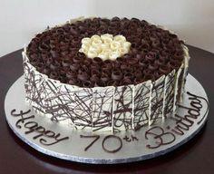 Chocolate Birthday Cake Ideas