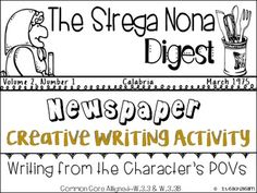 Strega Nona has always been one of my all time favorite stories! I remember reading this, nervously, to my students will I was student teaching and asking comprehension questions. I chose this book to read to them because it is for one, adorable and also Roald Dahl is an amazing author who crafts well-rounded characters and stories.