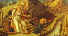 """The Vision of St. Augustine"" by Filippo Lippi."