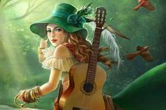Music girl - (#135107) - High Quality and Resolution Wallpapers on hqWallbase.com