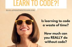 Should you learn to code? How much can you REALLY do without code? Build An App, Learn To Code, Ted Talks, Computer Science, You Really, Coding, Learning, Engineering, Apps