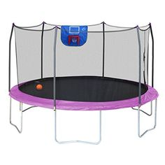 A Cheap Trampoline With Basketball Hoop will provide hours of fun for you and your kids. And not just fun, exercise and fitness also.