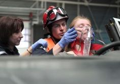 At a fire station in France, 120 firemen have been trained in basic medical hypnosis which they can use to soothe someone trapped under rubble or in a car following an accident, or even a person suffering an asthma attack.