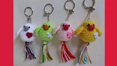 Imágenes de llaveros tejidos a crochet