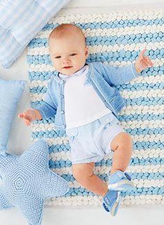 Rebajas Mayoral verano 2016 | Moda Bebé tonos azules