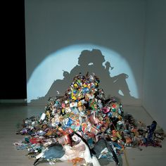 Out Of The Garbage And Into The Light:  Shadow Art By Tim Noble, Sue Webster, And Fred Eerdekens
