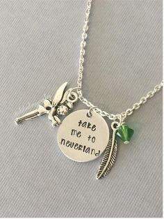 Take Me to Neverland Necklace. Peter Pan by ohdarlingjewelry