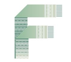 The Letter F | Typography Design Inspiration