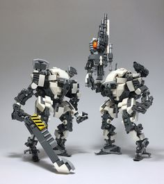 """LEGO Robot Mk9-13"" by ToyForce 120: Pimped from Flickr"