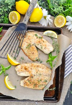 mandelkruste gesundes low carb abendessen mit fisch gebacken