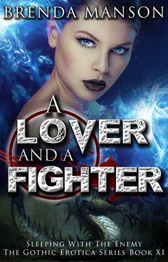 A Lover and a Fighter - Brenda Manson Romance, Fantasy Book Cover
