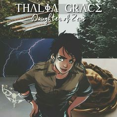 Thalia, daughter of Zeus *thunder grumbles